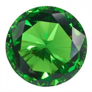 diamant vert rond