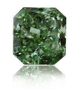 diamant vert radiant