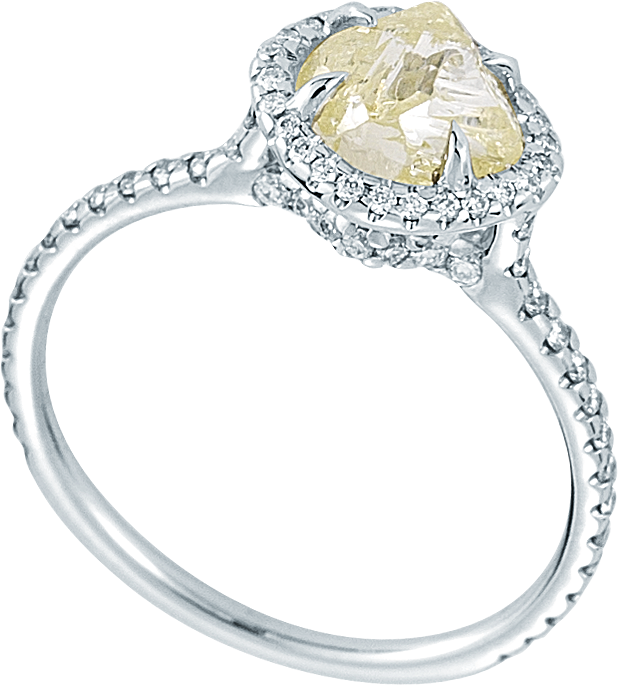Bague – Diamond in the Rought
