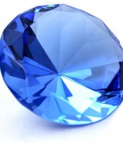 La fluorescence dans un diamant !