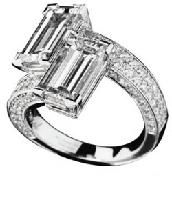 La bague de fiançailles «Toi et Moi»