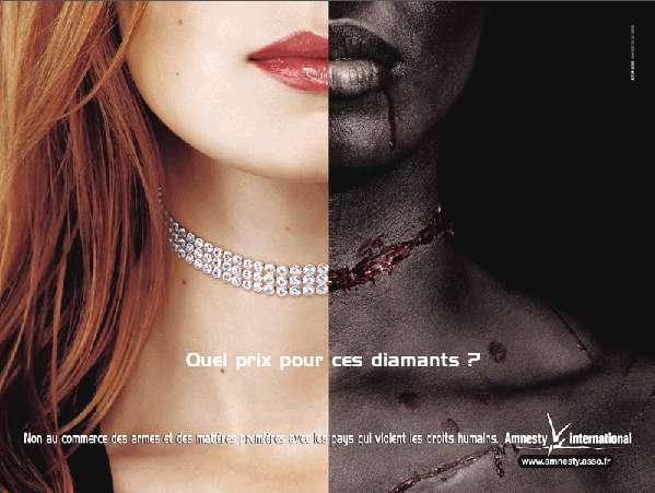 amnesty international - diamant ou diamant de sang