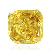 diamant jaune carré