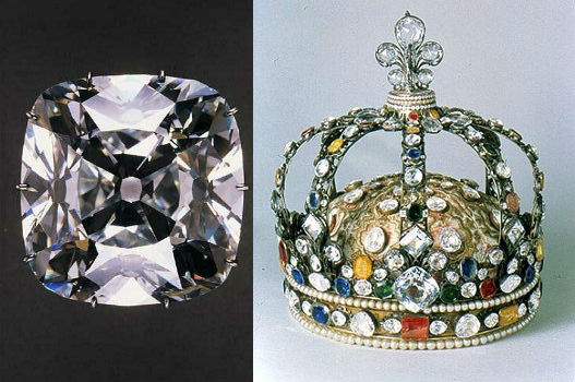diamant regent et couronne de france