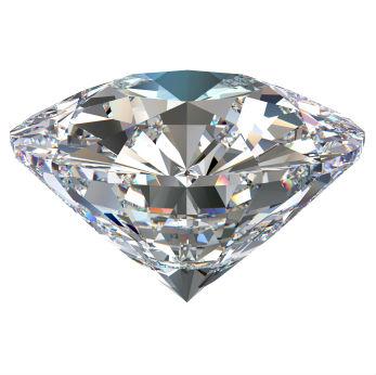 gros plan sur un diamant synthétique