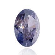diamant violet ovale