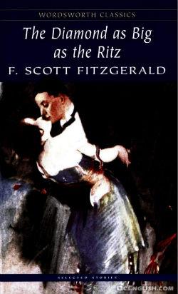 livre écrit par f scott fitzgerald, diamond as big as the ritz