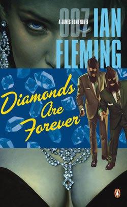 james bond par ina fleminbg, les diamants sont éternels