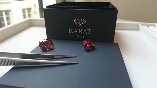 diamant couleur marsala