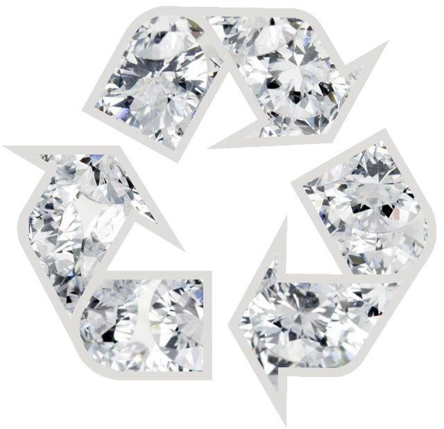 diamant recyclé