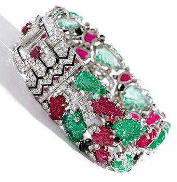 """bracelet Cartier """"Tutti-Frutti"""""""