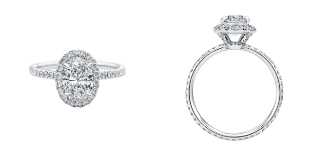 bague the one, harry winston
