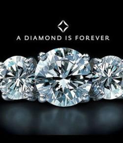 Le marché du diamant d'Est en Ouest